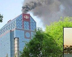 İstanbul Süzer Plaza'da Yangın