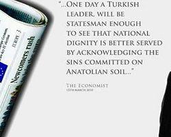 International Herald Tribune'de Gül'lü Soykırım İlanı