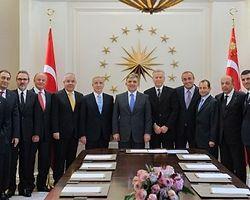 Gül, Galatasaray Yönetim Kurulu Üyelerini Kabul Etti