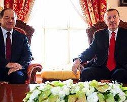 Barzani ve Erdoğan Görüşmesi Başladı