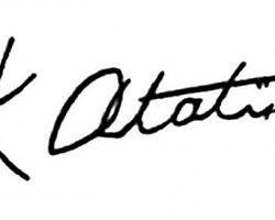 Atatürk'ün El Yazısı Font Oldu