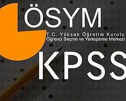 KPSS Başvuruları Bugün Başladı