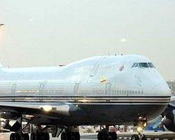 Altın kaplama uçakla geldi!