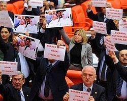 CHP'lilerden '4+4+4'e Pankartlı Protesto