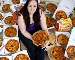 8 Yıldır Sadece Pizzayla Besleniyor