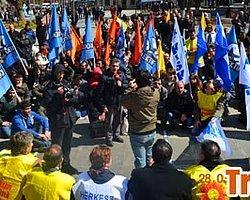 Erdoğan: 'KESK Eyleminde Polisimiz Dayak Yiyen Konumundadır'