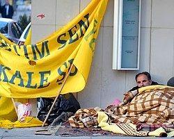 Ankara'da Dakika Dakika KESK Eylemi