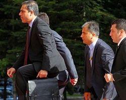 Başbakan Erdoğan Hakan Fidan'la Görüşüyor