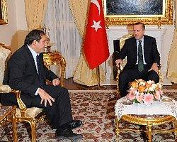 UEFA Başkanı Platini, AKP Merkez Binası'nda