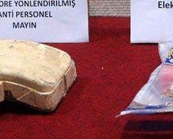 İzmir'de El Yapımı Patlayıcı Ele Geçirildi