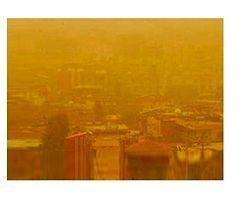 İskenderun'da Toz Bulutu Şaşırttı