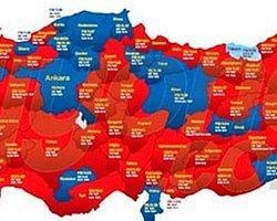 İl İl Taraftar Haritası