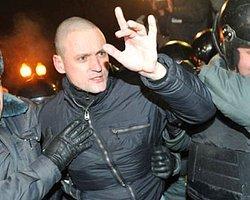 Putin karşıtı gösteriye polis müdahale etti