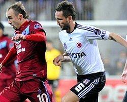 Perdeyi Beşiktaş açtı, Trabzonspor kapattı