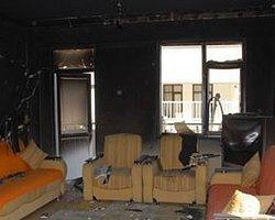Apartman'da çıkan yangın büyümeden söndürüldü