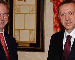 Erdoğan Google ile görüştü