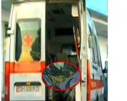 Ambulans'a uyuşturucu baskını
