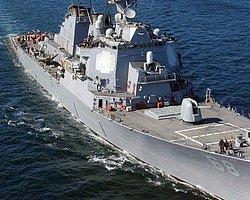Amerikan Savaş Gemisi Bodrum'da!