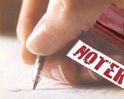 2012 yılı noterlik ücret tarifeleri belirlendi.
