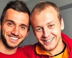 Galatasaray'ın genç yıldızları çok mutlu