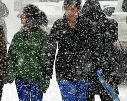 Meteoroloji'den Kar, Yağmur ve Fırtına uyarısı