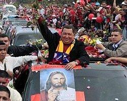 Chavez'e veda töreni gibi uğurlama