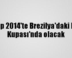 Bu ekip 2014'te Brezilya'daki Dünya Kupası'nda olacak