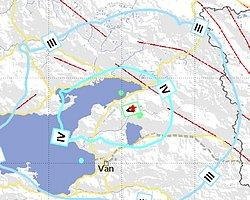 Van'da 4.7 Şiddetinde Deprem Oldu
