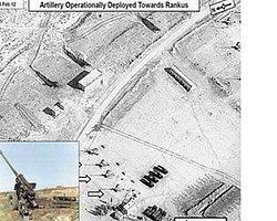 Suriye topçu birliklerinin uydu fotoğrafları yayınlandı