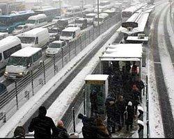 İstanbul yeniden beyaz