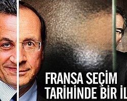Fransa'daki İlk Turun Galibi Hollande Oldu