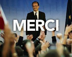 Fransa'da Zafer Hollande'ın