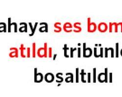 Fenerbahçe-Galatasaray Voleybol Maçında Bomba Paniği