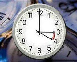 Saat Ayarı Değişecek!