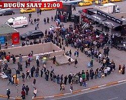 """Taksim'de """"Diablo"""" Çılgınlığı"""