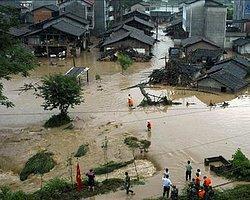 Çin'deki Sel Felaketinde Ölü Sayısı 53