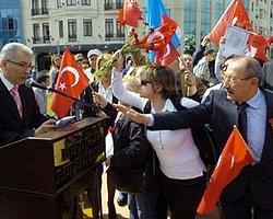 Antalya'daki 19 Kutlamalarında Bakan Günay'a Tepki