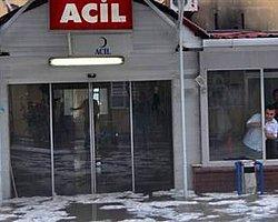Sakarya'da Hastaneyi Yine Su Bastı