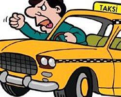 Taksicinin Siniri Şehirdeki Gazlardan