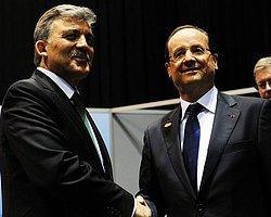 Fransız ve Alman liderlerle görüştü Anadolu Ajansı