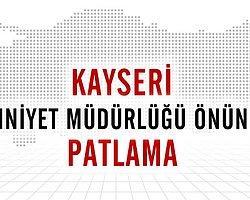 Şehit Polis Ahmet Geben'e Kayseri'de Hüzünlü Tören
