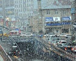 Erzurum'a 'Kar' Sürprizi
