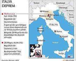 İtalya 5.8'lik depremle sallandı Anadolu Ajansı