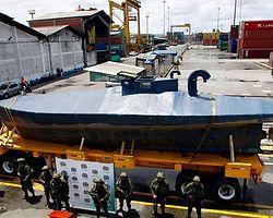 Uyuşturucu Taşıyan Denizaltı Ele Geçirildi
