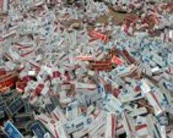 Soğan çuvallarından 27 bin paket kaçak sigara çıktı