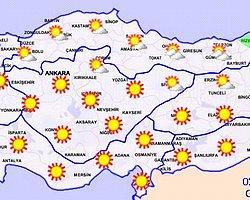 5 Günlük Hava Tahmini - Meteoroloji Genel Müdürlüğü