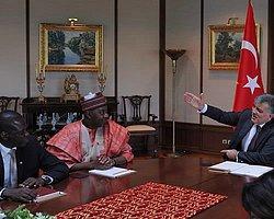 Nijerya Cumhurbaşkanı Yardımcısı 'Sambo' Tarabya Köşkü'nde