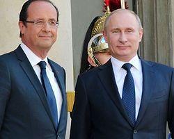 Putin Hollande ile Görüştü