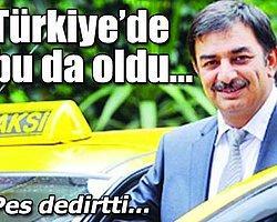 Taksicilerin Başkanına, Korsan Taksi Çalıştırma Cezası