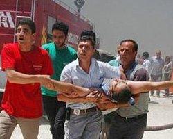 Mobilya Fabrikası Yandı: 17 İşçi Yaralandı